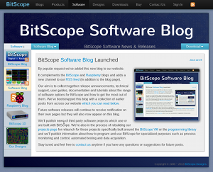 BitScope Software Blog.